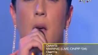 Diams- clash marine lepen dans une chanson en live