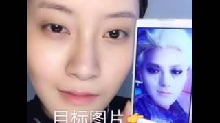 ZTAO Black White Make Up Tutorial by 彭特务