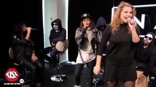 Dara cu INNA, Antonia si Carla's Dreams - Fie ce-o fi (live @ Kiss FM)