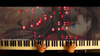 「Fate/Stay Night: Unlimited Blade Works 2014」OP -  Ideal White (piano solo) // Mashiro Ayano
