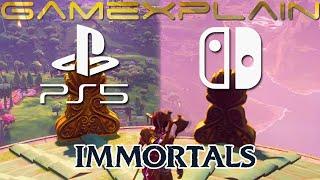 Immortals Fenyx Rising graphics comparison between Switch & PS