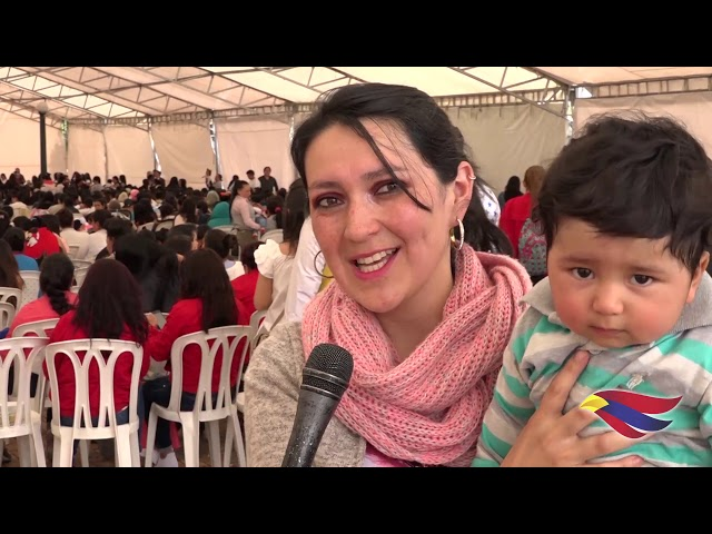 CON MÁS DE 900 MADRES GESTANTES Y LACTANTES PASTO PARTICIPÓ DE LA LACTATÓN