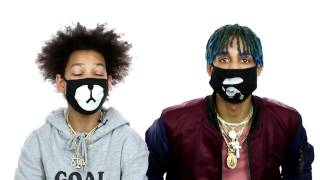 Ayo & Teo Reveal The Meaning Behind Their Masks