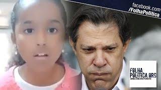 Garotinha repercute na web ao explicar para Haddad por que apoia Bolsonaro e o que é 'tortura'