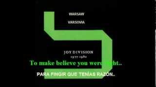 JOY DIVISION-WARSAW (VARSOVIA) - (Subtitulado Ingles-Español)