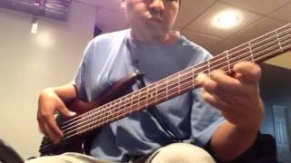 Las Torres bass cover