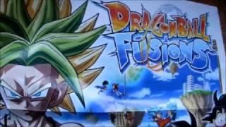 Dragon Ball Fusions - Unboxing de la edición coleccionista