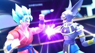 Dragon Ball Stop motion - Goku VS Beerus