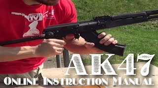 How To Unload and Load an AK-47 Rifle