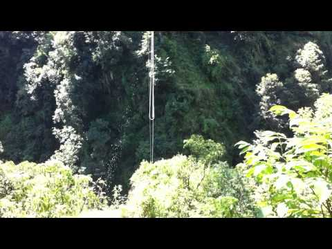 160m Bungy Jump in Nepal