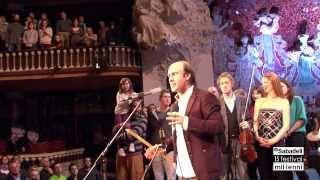 Carlos Núñez i el seu públic feliciten al Festival Mil·lenni