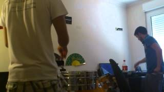 dj vicent ballester vs abel percussion live¡¡
