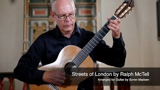 Streets of London (Ralph McTell) - Danish Guitar Performance - Soren Madsen