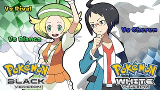 Pokemon Black/White - Battle! Rival Music (HQ)