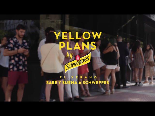 Vídeo ModoAvión en Yellow Plans by Schweppes