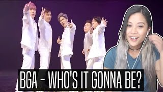 BGA - WHO'S IT GONNA BE REACTION! (JUN IS MY BIAS WRECKER)