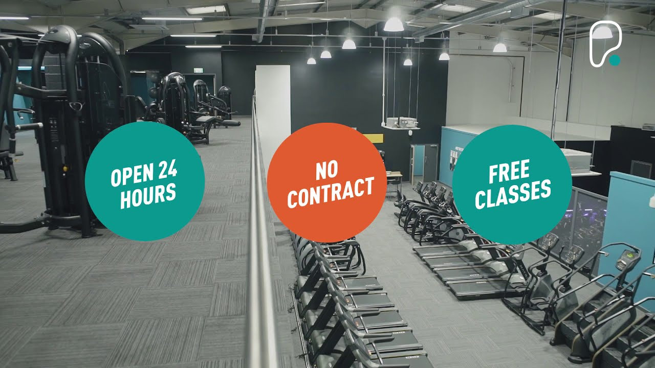 Inside PureGym London Hayes