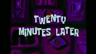 Spongebob Time Card download 20 Minutes Later