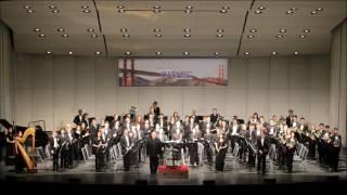 CBDA 2017   Wind Symphony performed  Gods of Olympus VI Hefesto by Oscar Navarro (AUDIO only)