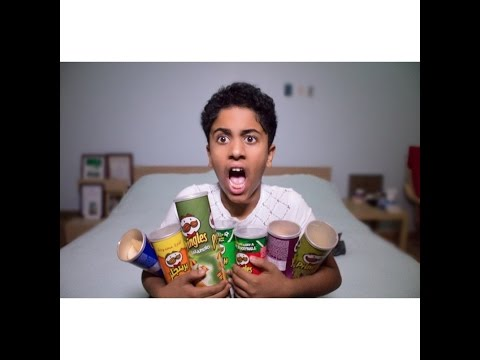 Aboodroid | Pringles Challenge  | تحدي البطاطس