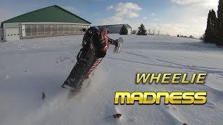 RMK Wheelie Madness!!