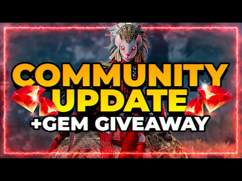 GEM GIVEAWAY! | Community Update! | RAID Shadow Legends