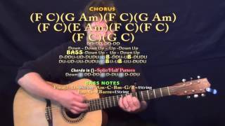 If I Could Fly (One Direction) Guitar Lesson Chord Chart - Capo 5th