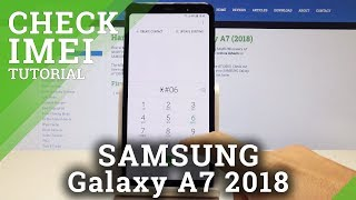 How to check imei and serial number in samsung galaxy a7
