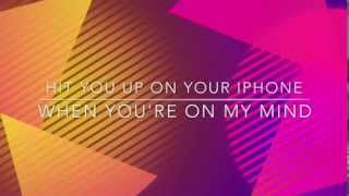 Tino Cochino - On My Mind feat MC Magic & Adrian Crush (Lyrics Video)