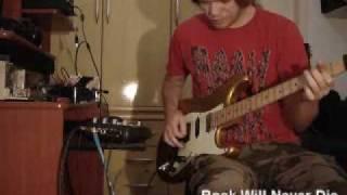 Promoção Cover Guitarra / Tagima Edu Ardanuy Medley Eletric Nightmare