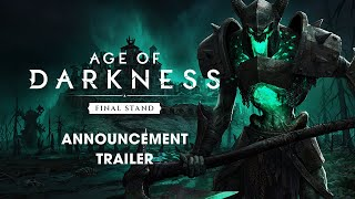 Survival RTS Age of Darkness: Final Stand Goes Early Access in October