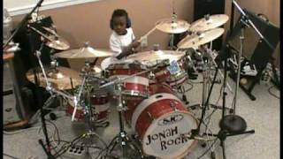 Sixx Am - Life is Beautiful, 5 Year Old Drummer, Jonah Rocks
