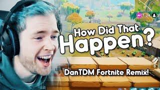 """HOW DID THAT HAPPEN?"" (DanTDM Fortnite Remix) | Song by Endigo"