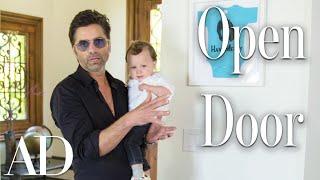 Inside John Stamos's $5.8M Beverly Hills House | Open Door | Architectural Digest