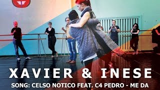 Epic Urban Kizz Footwork Dance by Xavier & Inese | Celso Notiço Feat. C4 Pedro - Me Dá | HD 2016