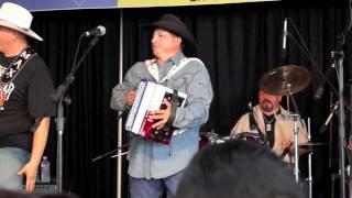 Los Texmaniacs A Mover El Bote at the 2012 Tejano Conjunto Festival