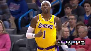 Los Angeles Lakers vs Oklahoma City Thunder | January 17, 2019