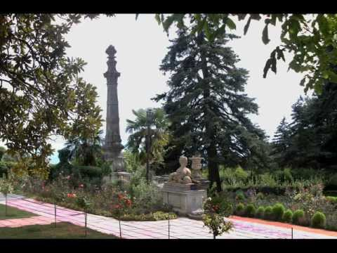 Масса́ндровский дворе́ц,Крым,Украина. Massandra palace,Ukraine.avi