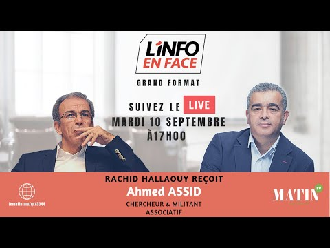 Video : Ahmed Assid dans l'Info en Face