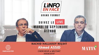 Ahmed Assid dans l'Info en Face