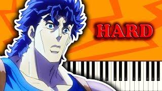JOJO'S BIZARRE ADVENTURE OP 1 (JOJO SONO CHINO SADAME) - Piano Tutorial