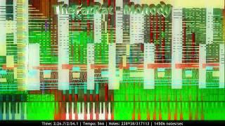 TheFatRat - Monody | 317,000+ Notes | Black MIDI ~ MusiMasta & MBMS | 1000 Subs & Birthday Special