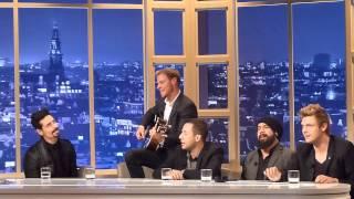 BackstreetBoys - Show Em Acapella live bij Ivo Niehe
