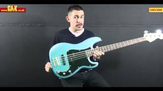 Squier - Vintage Modified Precision Bass PJ Demo at GAK