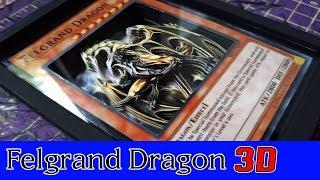 Carta do Felgrand Dragon com efeito em 3D! PA#2