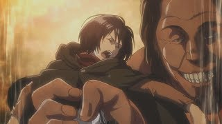 Jean saves his baby Mikasa! Cute!! Attack on Titan