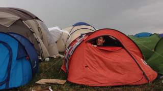 Tempête au Dour Festival 2017