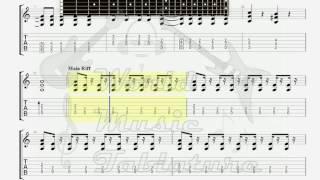 Delarium   Time GUITAR 2 TAB
