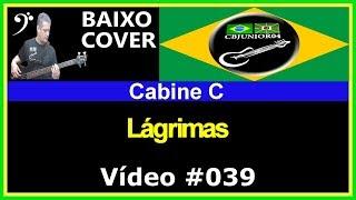 Cabine C - Lágrimas (no BAIXO com Tablatura) bass cover tab