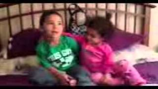 4 and 3 year old Kids dance to Sexy and I know it